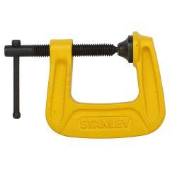 "Stanley - Maxsteel G Clamp C-clamp 75mm/3"" 0-83-033"