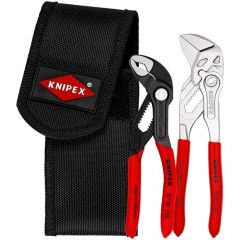 KNIPEX 00 20 72 V01 Mini pliers set in belt tool pouch 2 parts