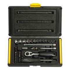 Stanley - 35Pcs 1/4 Drive 6 Point Socket & Bit set 1-89-033