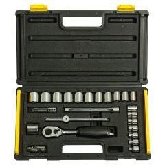 Stanley - 24pc 3/8 Drive Metric Socket Set 1-89-035
