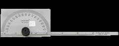 Kristeel - Degree Protractor cum Depth Gauge (Square Head) 1502-B