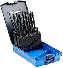 PFERD Twist Drill Set - SPB DIN338 HSSG N 1-10 Steel 25tlg