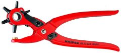 Knipex 90 70 220 Revolving Punch Pliers red powder-coated 220 mm
