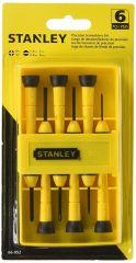 stanley - 6Pc Precision Screwdriver Set 66-052