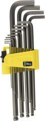 Wera -  950/13 Hex-Plus Imperial 1 L-Key Set, Imperial, BlackLaser 05021728001