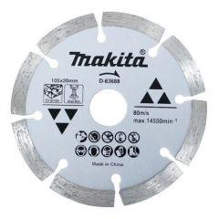 Makita - Granite Cutter 105x20mm (Pkt of 10 pcs) - D-63688
