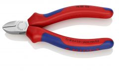 Knipex 76 05 125 Diagonal Cutter for electromechanics with multi-component grips chrome plated 125 mm