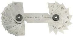 Kristeel - Angle Gauge (1 Degree - 45 Degree) AG