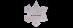 Kristeel - 60-120 Degree Countersink Angle Gauge AGCG