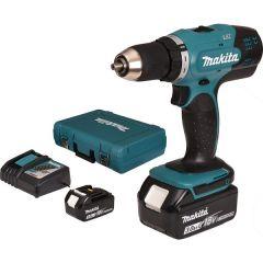 Makita - Cordless Driver Drill DDF453SFE - Max Lock Torque 38 N·m (340 in.lbs.) - 18V LXT