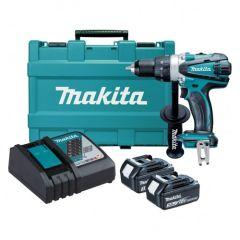 "Makita - Cordless Driver Drill  DDF458RFE - Capacity Steel : 13mm (1/2"") Wood : 76mm (3"")"