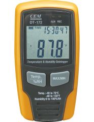 CEM - TEMPERATURE AND HUMIDITY DATALOGGER  DT-172