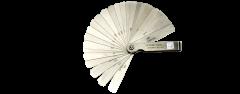 """Kristeel - Feeler Gauge- 27 Blades, -3"""" Size - Model FG 27"""