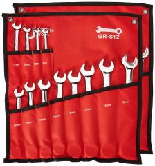 Jetech - Combination Ring Ratchet Wrench Set - GR-S12
