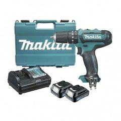 Makita - Cordless Hammer Driver Drill HP331DWYE - Max Lock Torque 28 N·m (250 in.lbs.) - 12V max  CXT
