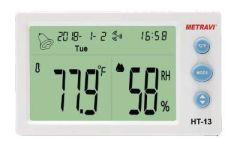Metravi - Digital Temperature & Humidity Meter HT-13