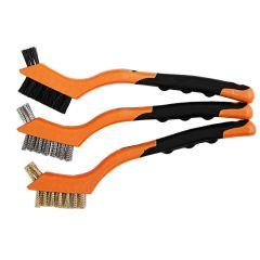 Kendo 3Pcs Mini Brush Set 31101 - 175mm