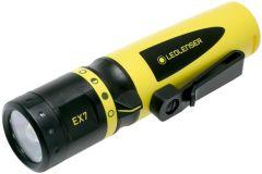 Led Lenser - Handheld Flashlight - EX7 for explosive environment