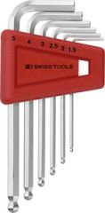 PBSwiss -  Ball point hex key L-wrench set PB 212.H-6