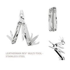 Leatherman Rev Multitool - Silver