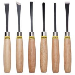 Stanley - Wood Chisel 1/4 Set - 6pcs - STHT16120-8