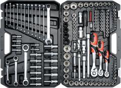 """Yato -  Socket Set 1/4"""", 3/8"""" & ½"""" 150PCS YT-38811"""