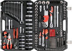 """Yato -  Socket Set 1/4"""",3/8"""",1/2"""" 225 PCS YT-38941"""